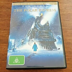 The Polar Express DVD 2-Disc Edition R4 VERY GOOD – FREE POST