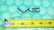 "Mitsubishi Emblem Badge Nameplate ""V6"" Eclipse Galant Diamante Side panel Sign"