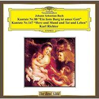 KARL RICHTER (CONDUCTOR)-J.S. BACH: CANTATES NO.80 & NO.147-JAPAN CD C15
