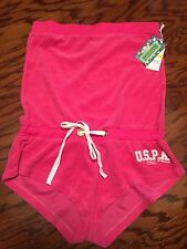 US POLO ASSN NWT Gilr's PINK JUMP IN  / One Piece SUIT / Shorts MSRP $35