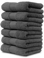 Maura Washcloths Set 13x13 Face Cloth Thick Soft Plush Absorbent Turkish Towels
