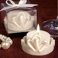 Interlocking Hearts Design Candle Holder