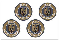 (4) Vegas Golden Knights NHL Decals / Yeti Stickers *Free Shipping