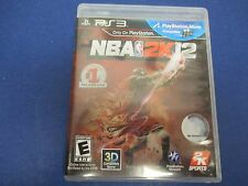 PlayStation 3, NBA 2K12, Rated E, 3D Compatible Playstation Move