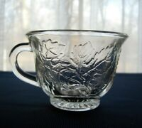 Indiana Glass Clear Princess Harvest Grape 6 ounce Punch Cup