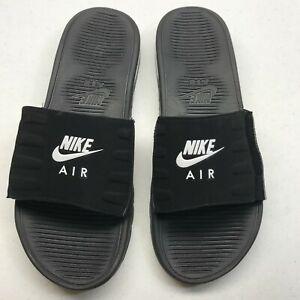 Nike Air Max Camden Slides Black/White US Men's Size 11