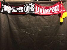 MK Dons v Liverpool League Cup Souvenir Scarf 25/09/19