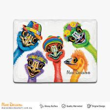 Maree Davidson Art Ceramic Emus Fridge Magnets Whiteboard Memo 3D Magnets