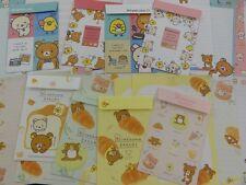 Rilakkuma Letter Set kawaii san-x stationery Bear Gift sale cute special 2017