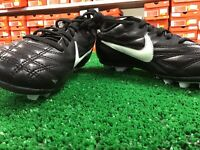 Jr Nike Premier 3 FG - R Youth Soccer Cleats Black / White Size 1y NWOB