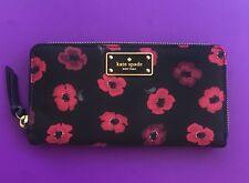 56321372970ef New ListingKate Spade Wilson Road Mini Poppy Neda Zip Around Wallet New.  Authentic ...