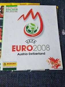 Panini UEFA Euro 2008 Complete set with Empty album EM 08 European championship