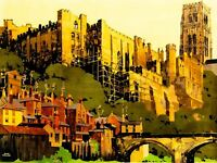 Vintage Advert Travel Durham Castle, Lner Art Canvas Print