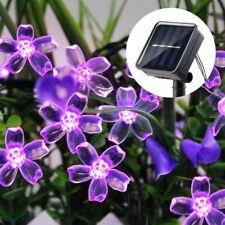 Solar Garland Flower Festoon Led Fairy Light USB String Lights Decoration