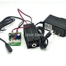 635nm 638nm 500mw Orange-Red Focusable Line Laser Diode Module TTL w/12V Adapter