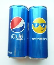 PEPSI Cola can THAILAND Tall 245ml Promo 2016 Collect COOL #SAYITWITHPEPSI