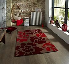 Hong Kong 33l Brown and Red Rug 90cm X 150cm