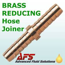 13mm - 10mm BRASS BARBED Fuel Hose Joiner silicone 3/8