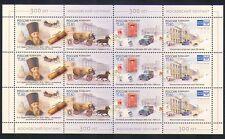 Russia 2011 ufficio POSTALE/trasporto postale/Cavallo/Auto/Furgone/AUTOMOBILISMO 12v Sht (n33803)