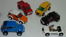 LEGO INSTRUCTIONS custom city/town mini vehicle/cars SUV, Convertible, NO BRICKS