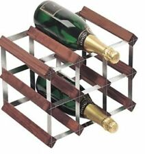 9 Bottle Wine Rack Can be Stacked Storage Racks Bottles Storing Counter Top Unit