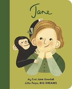 Jane Goodall (Little People, BIG DREAMS). Vegara, Cerocchi 9780711243163 New.#