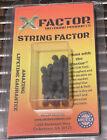 X Factor String Factor Archery Bow String Silencers Black 4 Pack Deer Hunting