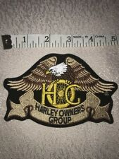 Harley Owners Group HOG Harley Patch