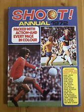 Shoot 1972 Annual Vintage Book Retro Christmas Gift Present