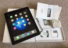 Apple iPad 4th Gen 128GB, Wi-Fi + Cellular (Unlocked),9.7in Retina Display-Black