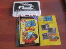 Atari 800XL/130XE - mastronix. acción Biker. 1985 condición de casi como nuevo -