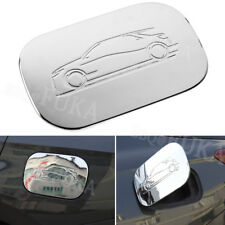 Chrome ABS Fuel Tank Oil Gas Cap Lid Cover For Chevrolet Equinox 2017 2018 Shiny