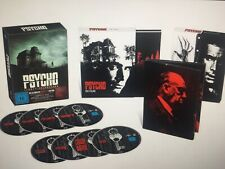 Psycho Legacy Collection Deluxe Edition Blu Ray Uncut Oop German Boxset