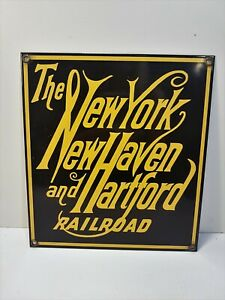 New York New Haven & Hartford Railroad - Plate Enamelled Train Locomotive U.S.A