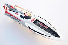 Bare Hull DT G30H Saber 30CC Engine Gas RC Racing Speed Boat FiberGlass KIT Gray