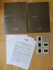 GIUGIARO ORIG 2000 Press Pack con BROCHURE + vetrini per MASERATI BURAN
