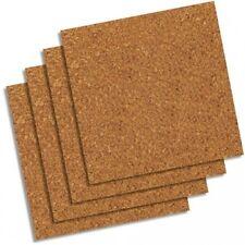 Cork Tiles 12x12 Square Bulletin Board Sheet Roll Wall Natural Adhesive Memo Pad