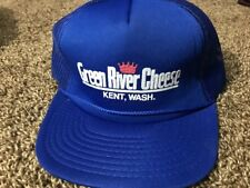Green River Cheese Kent Washington Mesh Trucker Hat Baseball Cap