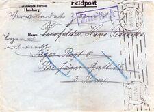 GERMANIA - I° GUERRA MONDIALE - POSTA MILITARE - RARA FELDPOST DA HAMBURG - 1917