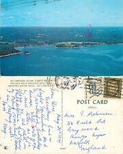s14778 Recompense Shore Campsites & Organic Beef Farm, Freeport, Maine, USA 1979