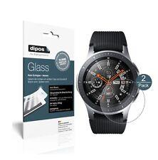 2x Samsung Galaxy Watch 46mm Schutzfolie matt - Panzerfolie 9H Folie dipos Glass