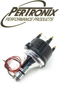 PerTronix D186810 Plug N Play Billet Distributor VW Beetle 4 Cyl 50-79 Black Cap