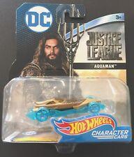 Hot Wheels Marvel Character Cars Aquaman - Justice League - New