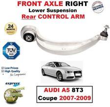 1x Ant Dx Sospensione Inferiore Post. Braccio di Controllo per Audi A5 8T3 Coupe