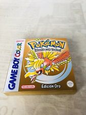 Caja (Repro) Pokemon Oro (Game Boy Color)