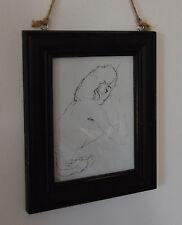 FOTORAHMEN BILDERRAHMEN Holzbilderrahmen Holz schwarz Shabby Chic Landhaus Stil