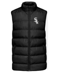 NEW Chicago White Sox Puffy Vest Medium - Giveaway 9/11/21
