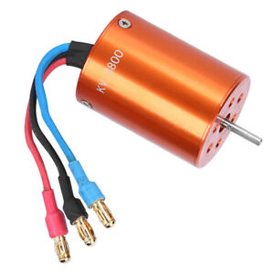 3800KV Metal Motor 2838 RC Accessory Fit For 1/12 1/14 RC Car Boat 2.3mm Shaft