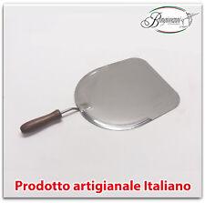 Pala per pizza pane forno casa cucina in acciaio inox cm 29,5x33