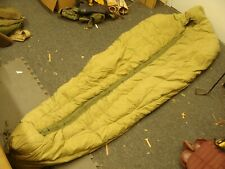 Vtg Us Army Military M-1949 Type 1 Down Filled Reg Mountain Mummy Sleeping Bag